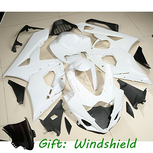 TCMT Unpainted ABS Fairing Set Body Fits For SUZUKI GSXR1000 GSXR 1000 2005 2006