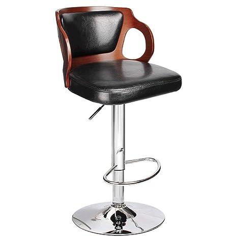 Swell Amazon Com Zcx Rotating Bar Stool Adjustable Height Leather Machost Co Dining Chair Design Ideas Machostcouk
