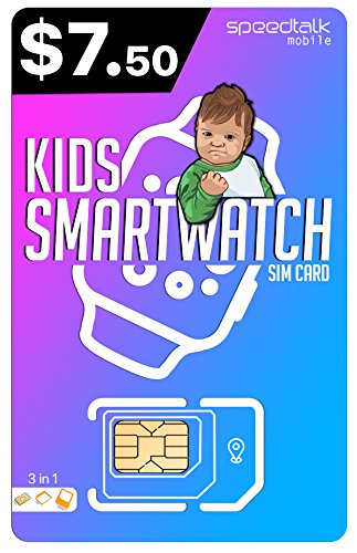 SiM Card for Kids SMARTWATCH | 3 in 1 SIM Card | GSM 2G 3G 4G LTE – Kids Smartwatch and Wearables