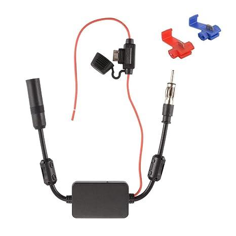 12v Amplificatore Antenna Auto Autoradio Amplificatore Antenna Auto Radio NUOVO