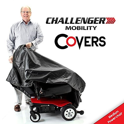 Challenger Mobility CMC-322 Cover for Powerchair Heavy Duty Light Vinyl, ()