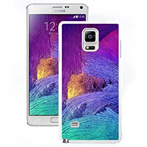 NEW Unique Custom Designed Samsung Galaxy Note 4 N910A N910T N910P N910V N910R4 Phone Case With Galaxy Note 4 Stock Glass Pattern_White Phone Case