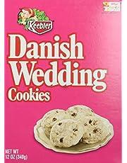 Keebler Danish Wedding Cookies, 12 Oz. Box (2 Pack) by Keebler