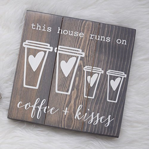 Coffee & Kisses, This House Runs on Coffee, Coffee Lovers, Gilmore Girls, Gilmore Girls Revival, Luke's Cafe, Coffee Lovers, Gifts for Her Luke's Cafe