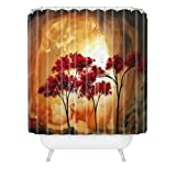 DENY Designs Madart Empty Nest 2 Shower Curtain, 69-Inch by 72-Inch