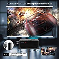 Amazon.com: SeoJack Mini proyector portátil para smartphone ...