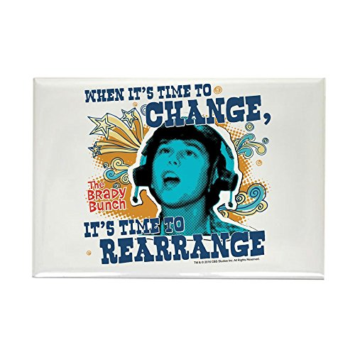 CafePress The Brady Bunch: Time To Change Rectangle Magnet, 2
