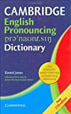Cambridge English Pronouncing Dictionary, Daniel Jones, 0521862302