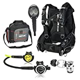 Seac Shepra BCD with DX200 Scuba Regulator with Octo Dive Computer Scuba Gear Package