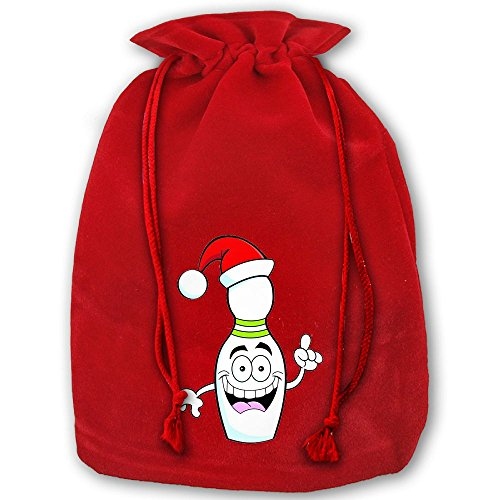 Elf Bowling The Movie Santa Sack Backpack For Party Favors Gifts And (Movie Party Treat Sacks)