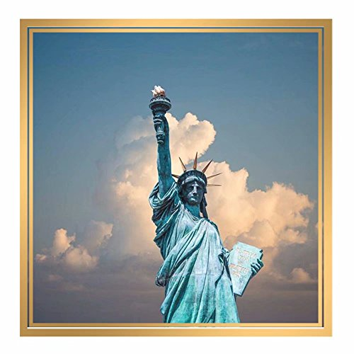 - Handser Handser Full Round Drill Diamond Painting, Cross Stitch Statue of Liberty Rhinestones Embroidery Mosaic 5D Painting, Arts Craft Canvas Wall Decor (Picture Size:11.8x11.8inch)