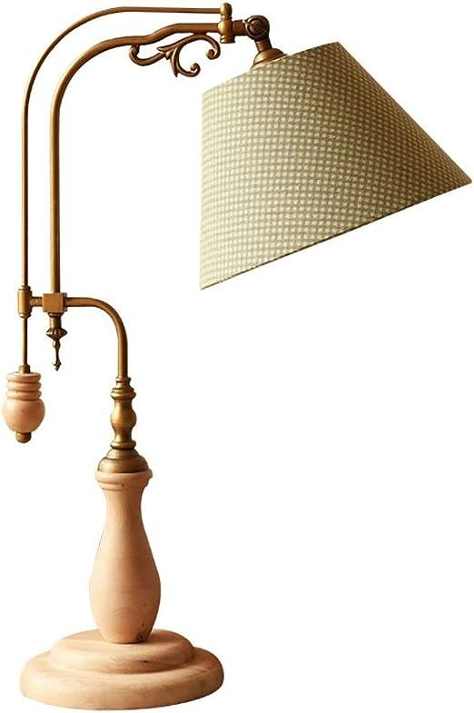 Lámpara de mesa Lámpara de mesa americana retro Lámpara de mesa ...