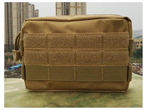 HNBGY Praktisch Tragbare wasserdichte Nylon Multifunktions Tasche EDC Werkzeuge Tasche für Outdoor Jagd Angeln Camping