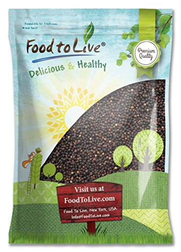 Food to Live Black Peppercorns, Whole Black Pepper, Kosher (5 Pounds) by Food to Live
