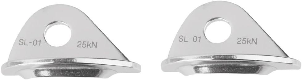 Bonarty 10 mm Alpinisme Escalade Crochets /à Pitons Expansion Vis