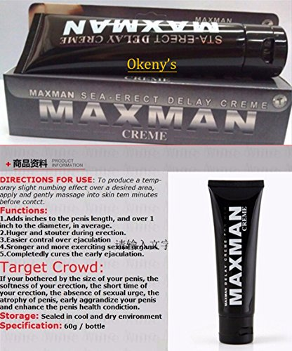 Maxman Penis Enlargement Essential Oil max man penis enlarge Growth Sex Delay Penis Care Extender Enhancers Cock Cream