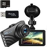 Dash Cam,3.0 TFT Dashboard Camera with 6-Lens HD 1080P Front Vehicle DVR and 140 Wide Angle Night Vision Loop Recording G-Sensor Car Recorder Camera …