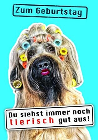 Karte Geburtstag Motiv Tierisch Gut Drauf Lustig Freche Sprüche Mit