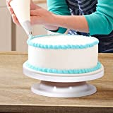 Ohuhu Revolving Cake Decorating Stand - White