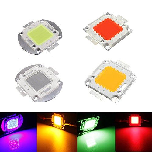 50W Green DC32-36V High Power LED Chip Light Lamp Home Car F