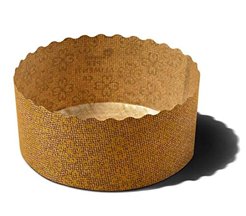 Paper baking Pan, Cupcakes, Perfect for Muffins, Cupcake Souffle, Panettone etc. W 3.54 in X H 1.5/8 in (100 Pieces)