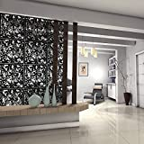 low level room dividers interior kernorv hanging room divider made of environmentally pvc 12 pcs partitions panel screen for decorating amazoncom 25 to 50 dividers accent furniture home