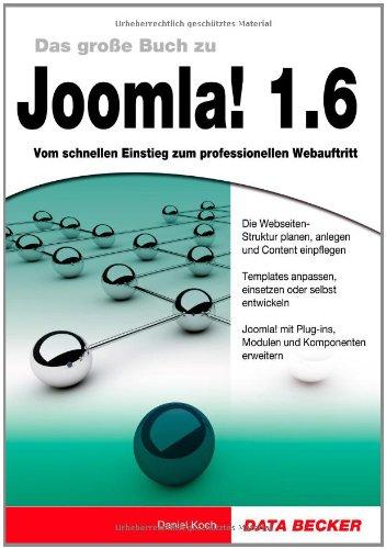 Das große Buch: Joomla! 1.6