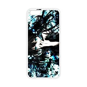 iPhone6 Plus 5.5 inch Phone Case White Black Rock Shooter ZGC410266