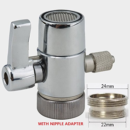 Divert Valve 1/4 inch tubing for Counter top Water Filters Water Purifer RO system Faucet Adapter