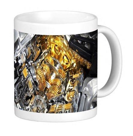 - Engine Gold 11 ounce Ceramic Coffee Mug Tea Cup