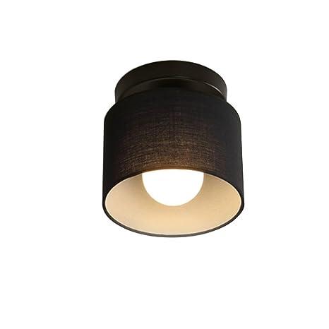 Modern Fácil lámpara de techo Faston pantalla de tela Hierro ...