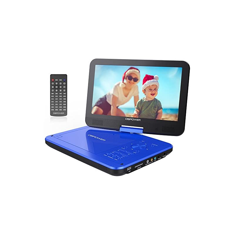 """DBPOWER 10.5"""" Portable DVD Player with R"""