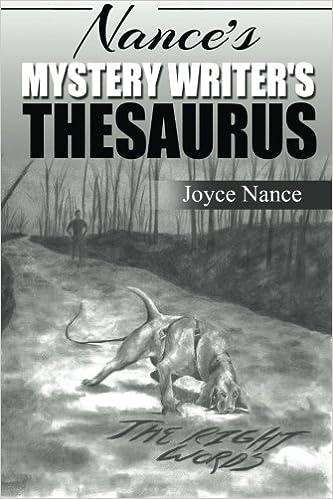 Book Nance's Mystery Writer's Thesaurus