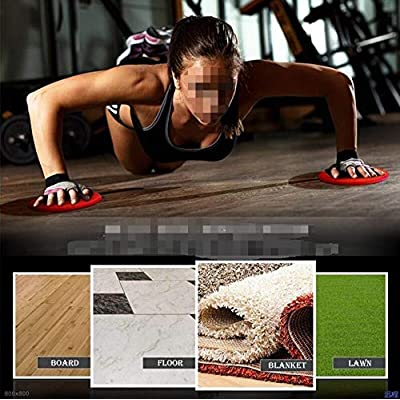 NOLOGO Whz-zyf 4Pc Fitness Gliding Discs Core Sliders Exercise Workout Sliders Gym Sliders Training Sliding Disc,Durable (Color : Red): Home & Kitchen