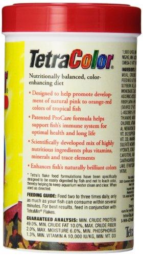 046798771616 - Tetra 77161 TetraColor Tropical Flakes, 2.20-Ounce, 375 ml carousel main 2
