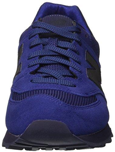 Uomo Basse Scarpe New da Balance Blu Blue Ginnastica 574 PqpqHYxzw