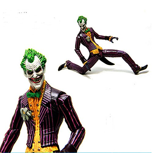 Batman Begins Costume Vs Dark Knight (Comics Arkham Asylum Batman Series The Joker City Play Statue Action Figure)
