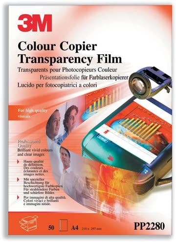 3M COLOUR LASER COPIER FILM PP2280PK100