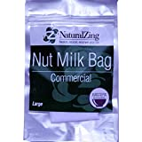 Fine Mesh Reusable Large Nut Milk Bag-2 gal.