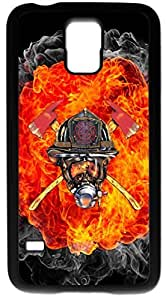 Generic Firefighter Courage Under Fire -case for Samsung Galaxy note4 Black Case