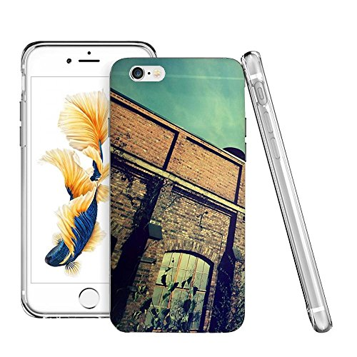 Thwo M84015_Abandoned Factory Building Wallpaper phone case for iphone 6/6s plus