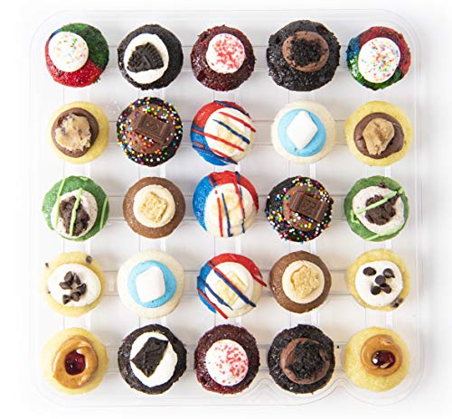 Baked by Melissa Cupcakes The Latest & Greatest - Assorted Bite-Size Cupcakes, 25 Count ()