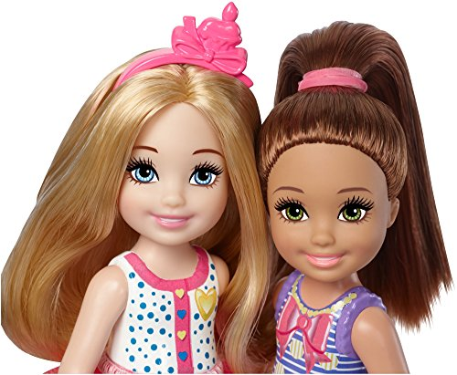 Review Barbie Club Chelsea Birthday Party Dolls & Accessories, 2 Pack