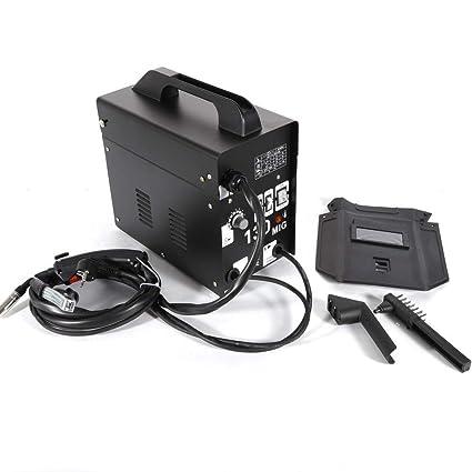 OUBAYLEW MIG-130 - Soldador de electrodos sin gas, 230 V, 55-