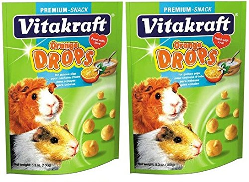 Orange Drop for Guinea Pig Treat - 5 oz. [Set of (Vitakraft Small Animal)