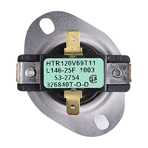 Dryer Control Thermostat (31001088 Admiral Dryer Thermostat Control)