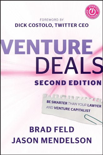 venture deals be smarter than your lawyer and venture capitalist free pdf