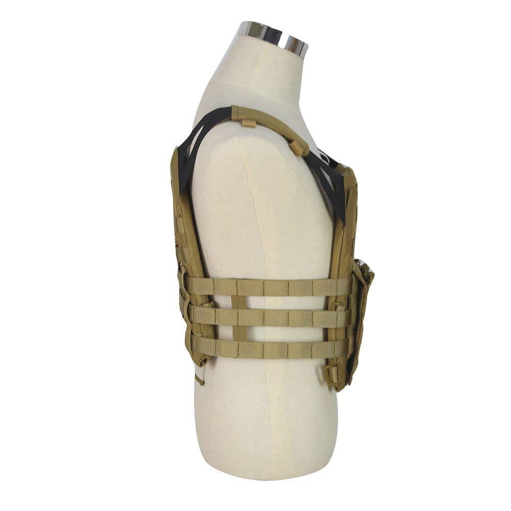 Kayheng Tactique JPC Molle Gilet Militaire Wargame Chest Rig Chasse Gilet Airsoft CS Veste De Protection