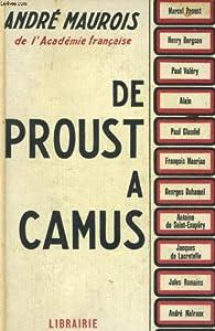 De proust a camus par André Maurois