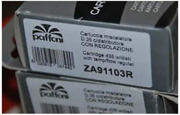 ZA91103R Cartouche compl/ète /Ø 35 mm ROUGE PAFFONI